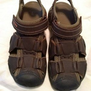 Crocs Mens Swiftwater Fisherman Sandals SZ 9